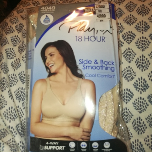 8856a0597a PlayTex 18hour Cool Comfort Bra NWT